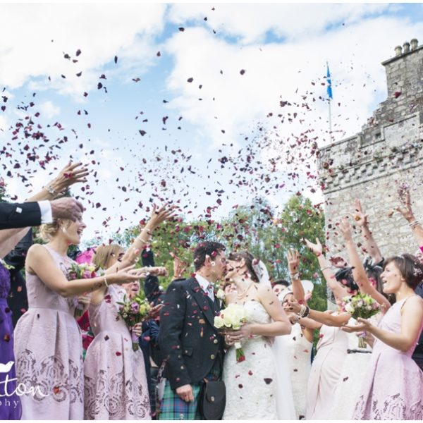 Culcreuch Castle Wedding - Evelyn & Jamie