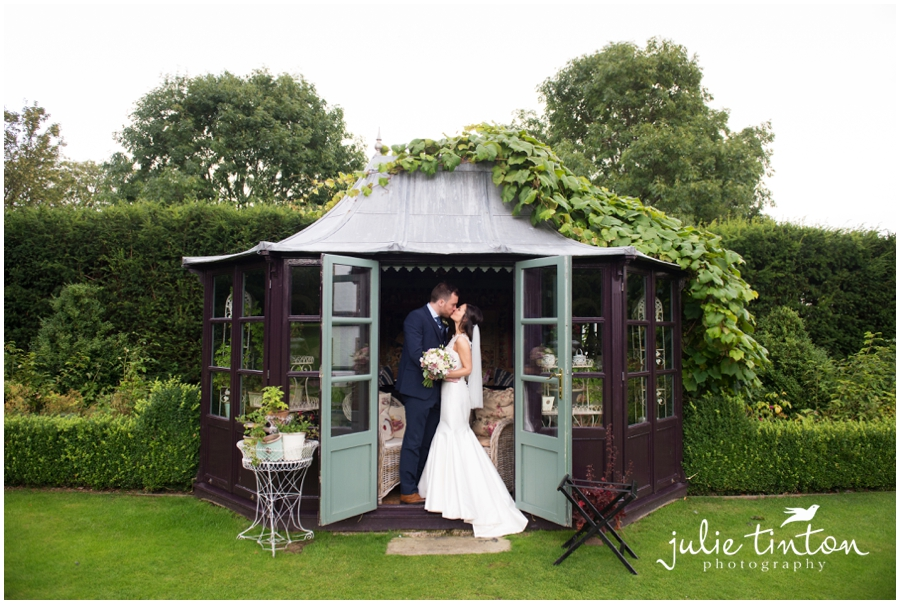 Prestonfield House Wedding Romantic