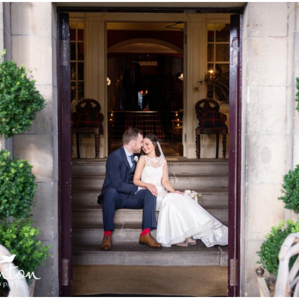 Relaxed Prestonfield House Wedding - Chloe & Michael