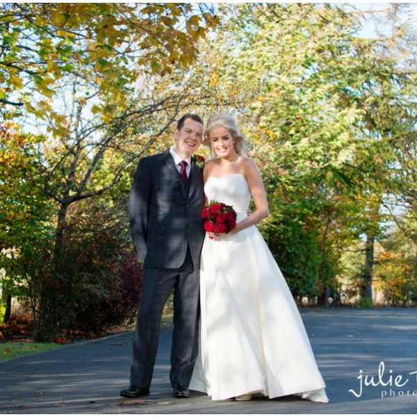 Dalhousie Castle Autumn Wedding - Jennifer & Joe