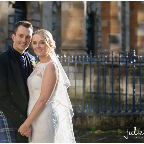 St Andrews In The Square Wedding - Anna & Dougie