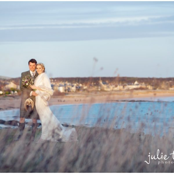 Kinkell Byre Winter Wedding St Andrews - Gemma & James