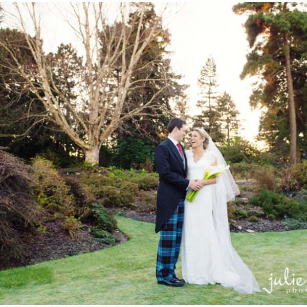 Edinburgh Botanic Gardens Wedding - Rachel & Dan