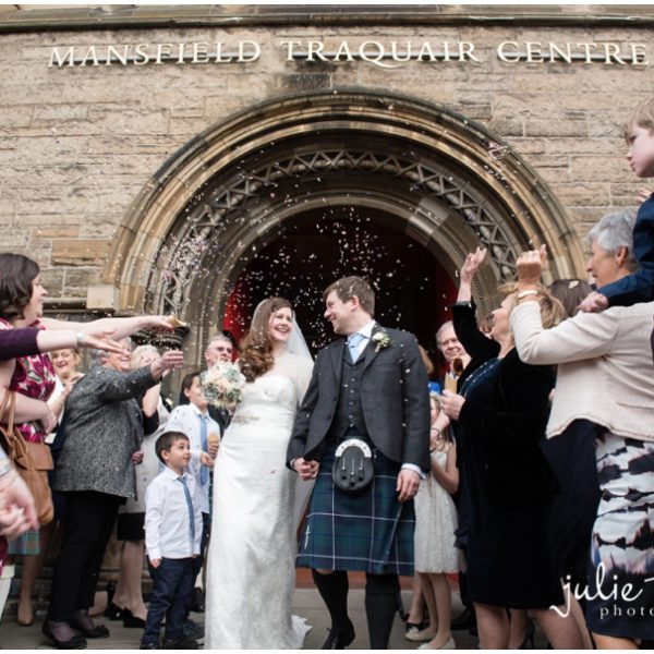 Lynne & Martin - Mansfield Traquair Wedding