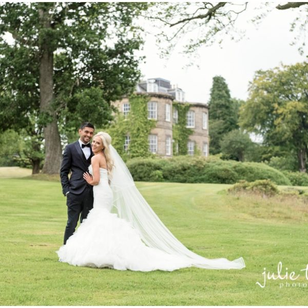 Harburn House Wedding - Shelley & Rasel