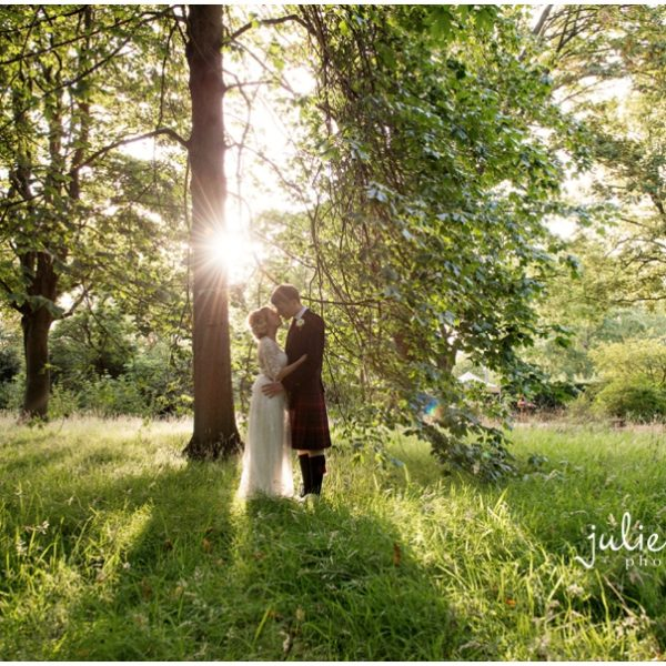 Royal Botanic Gardens, Edinburgh Wedding - Stephanie & Kevin