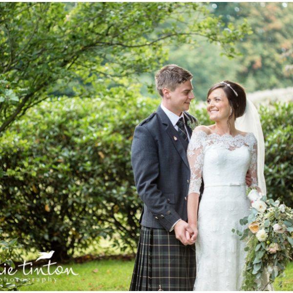 Balbirnie House Wedding - Gemma & David