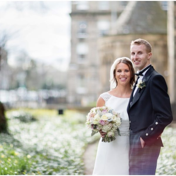 Mansfield Traquair Wedding - Rachael & Christopher