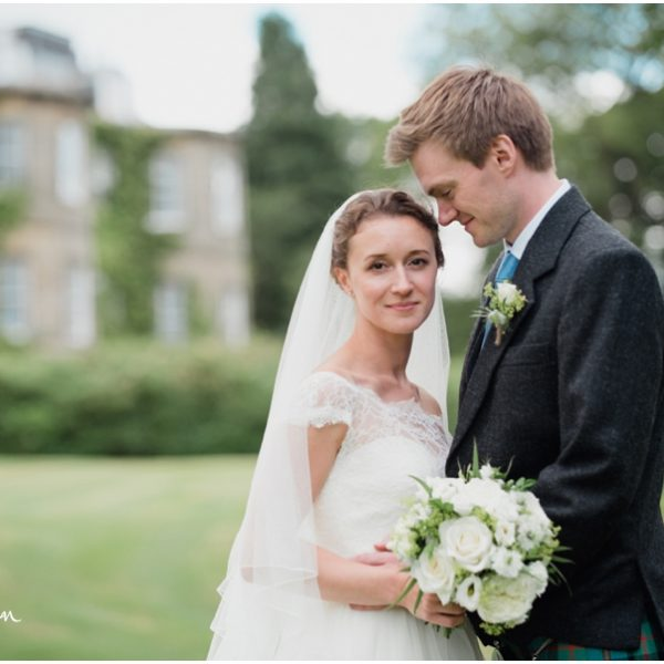Harburn House Wedding - Sally and Johnny