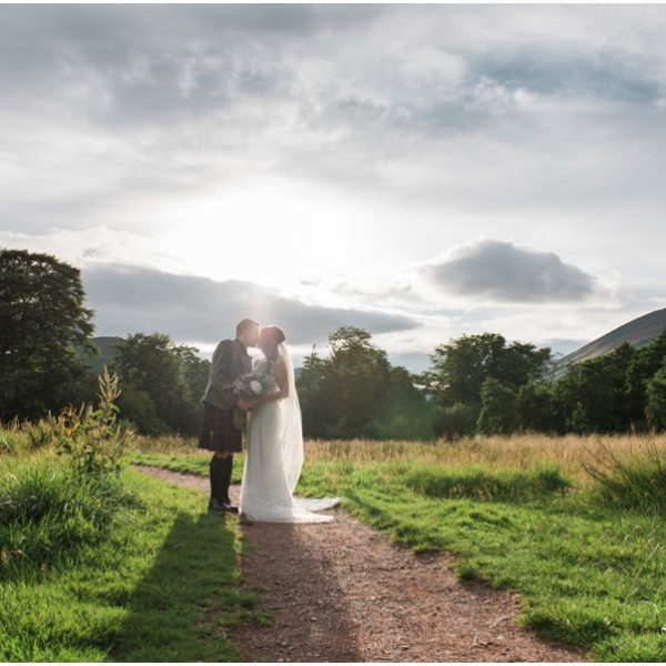 Lodge on Loch Lomond, Luss Wedding - Kim & Stewart