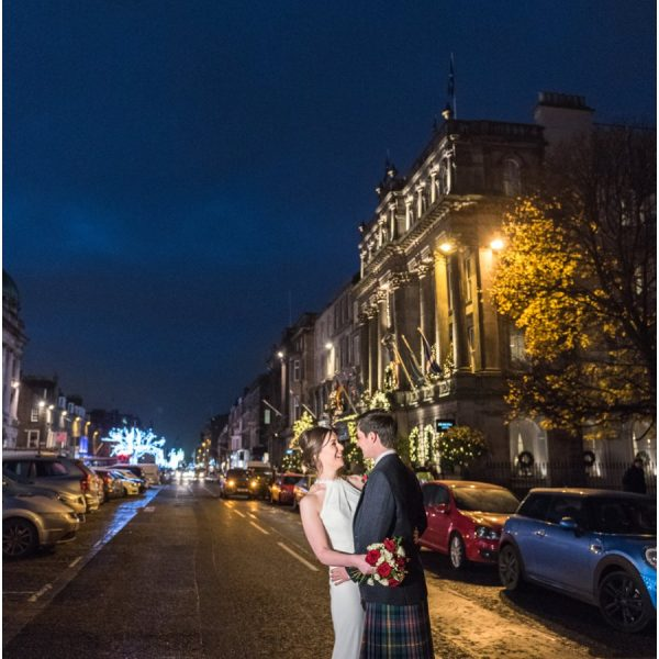 Principal Hotel Edinburgh Winter Wedding - Catriona & Lewis