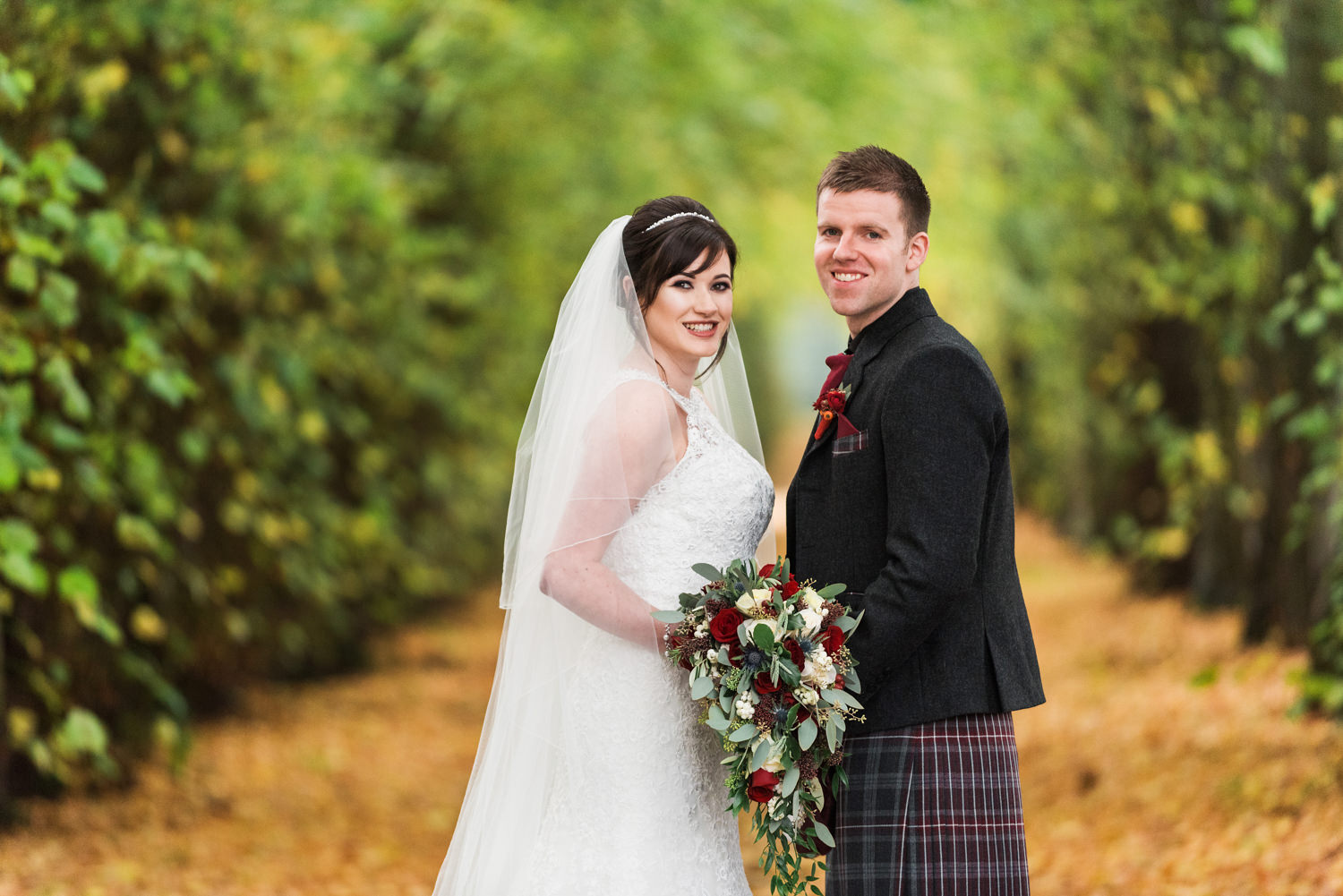 Hopetoun House Wedding Autumn