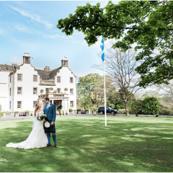 Prestonfield House Wedding - Ailidh & David