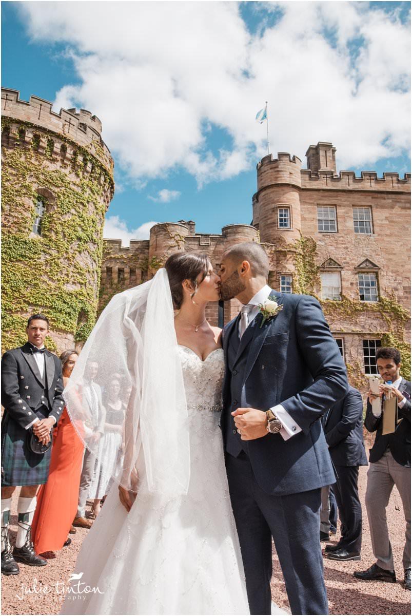 Dalhousie Castle Wedding