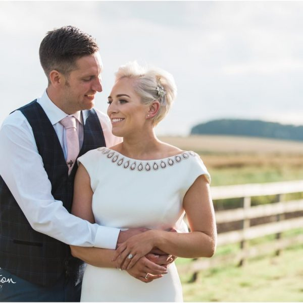 Louise & Ian - Northumberland Farm Wedding
