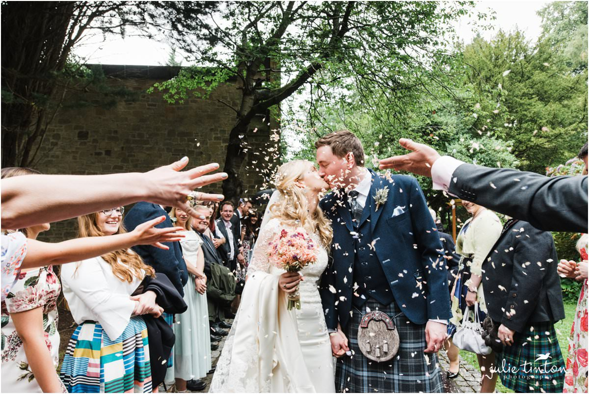 Carberry tower wedding michelle alan edinburgh wedding carberry tower wedding confetti ombrellifo Image collections