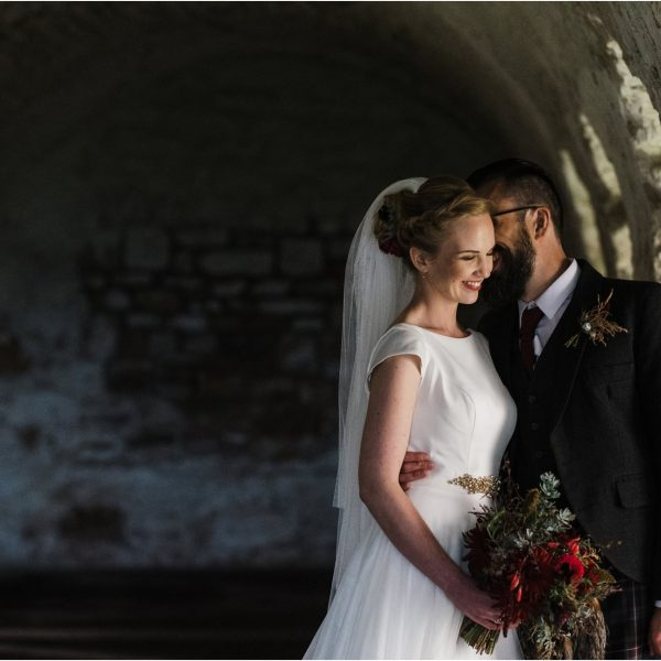 Inchcolm Island Wedding