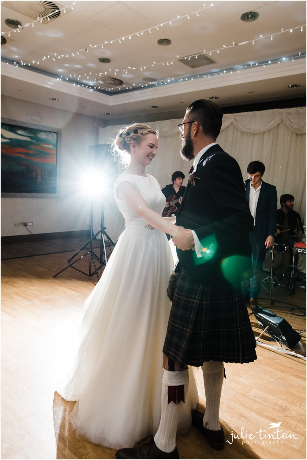 Bride and Groom's first dance at Norton House Hotel