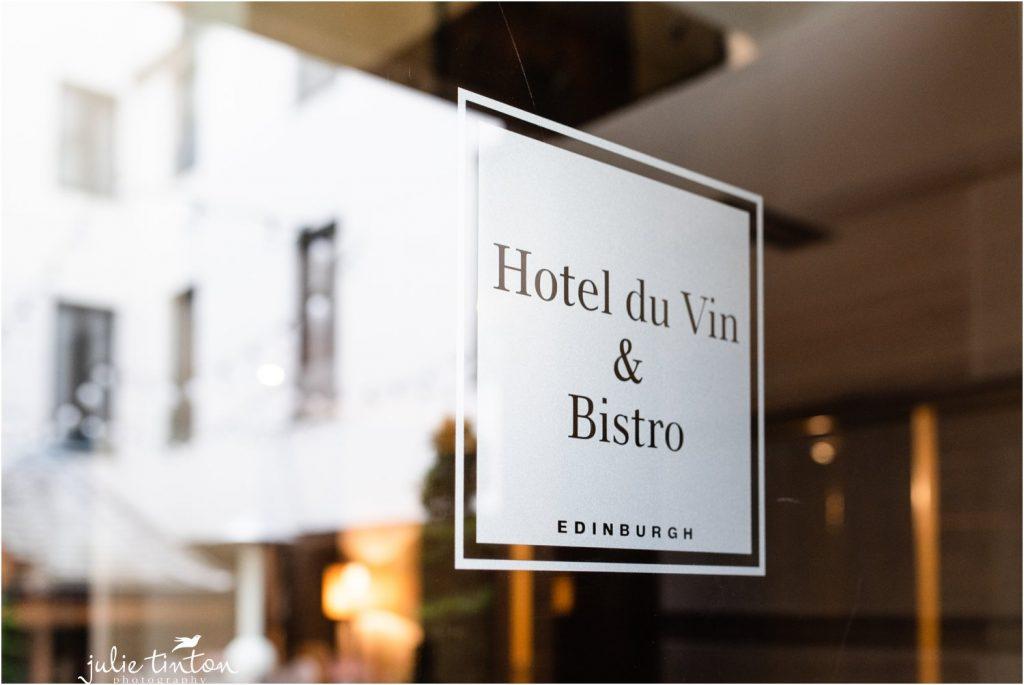 Hotel Du Vin sign