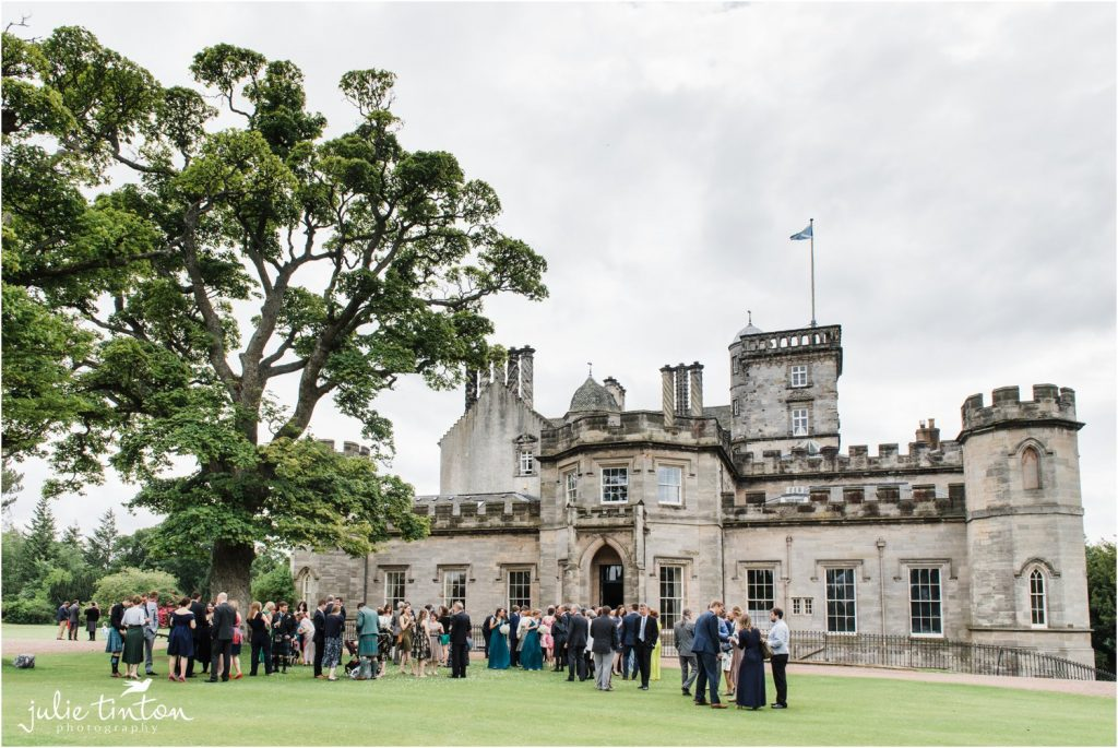 Winton Castle Wedding