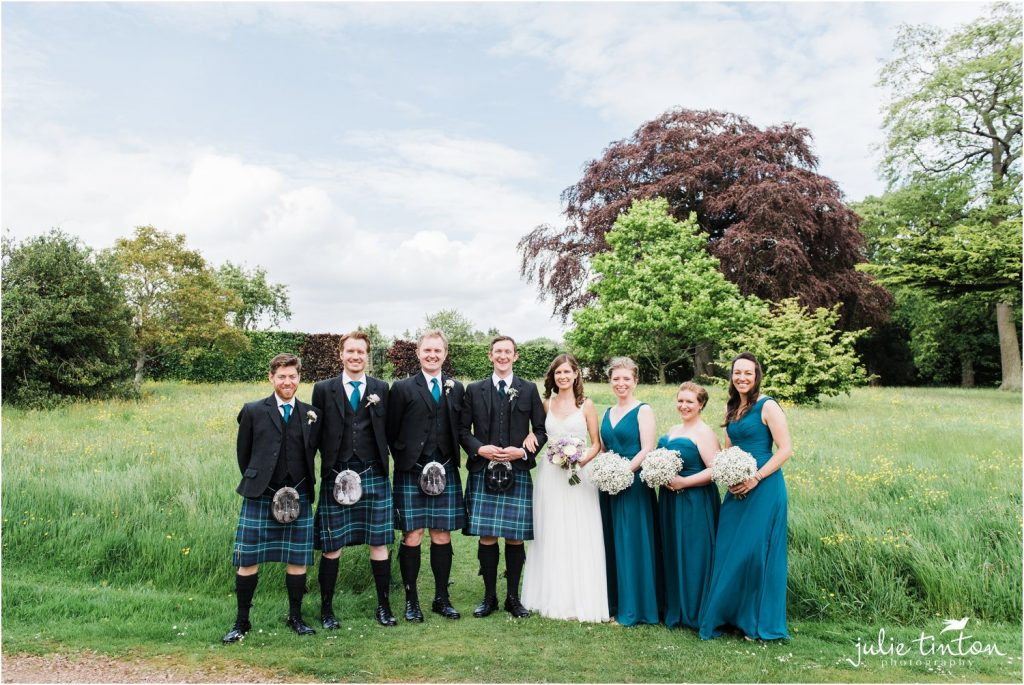 Bridal Party Winton Castle