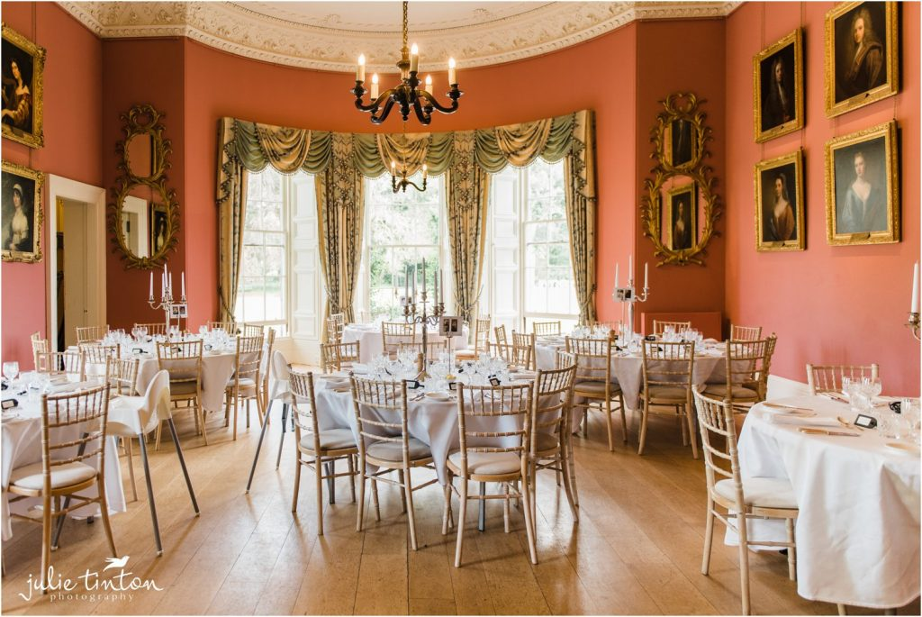 Wedding Breakfast at Winton Castle