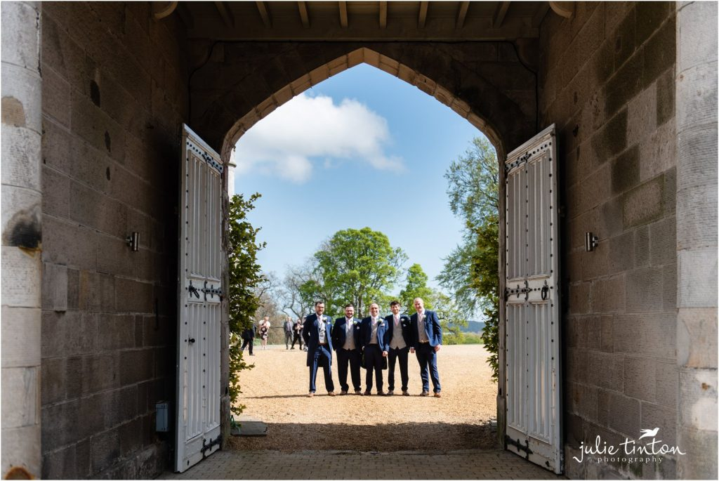 Groomsmen at Dundas Castle