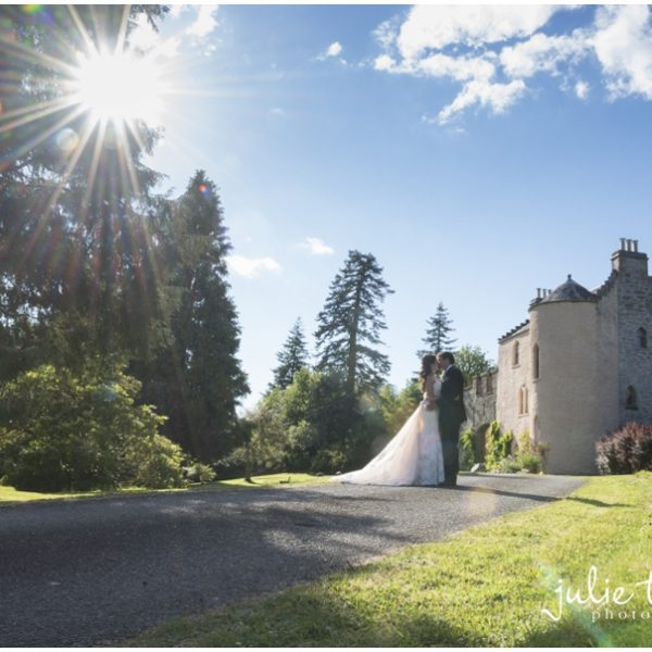 Duchray Castle Wedding, Loch Lomond - Krissy & Stephen