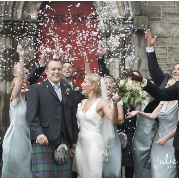 Mansfield Traquair Wedding - Emma & Ross