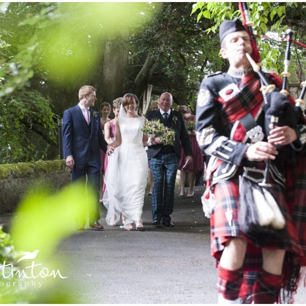Glencorse House, Summer Wedding - Katie & Tim