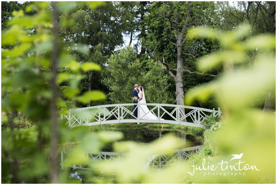 Glencorse House Wedding lakeside