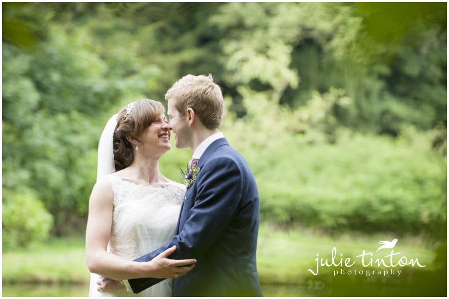 Rainy Glencorse House Wedding