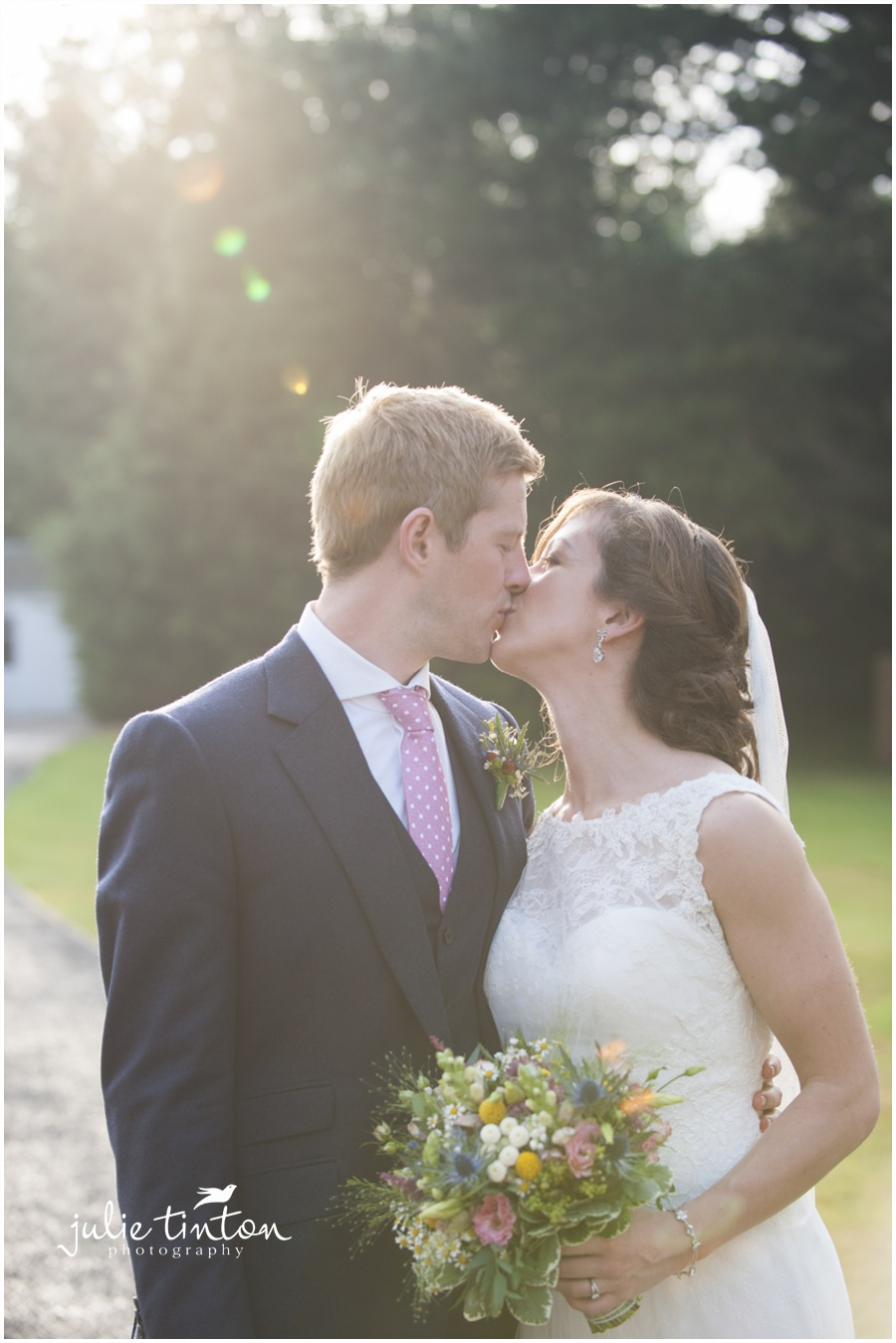 Glencorse House Wedding soft light golden hour