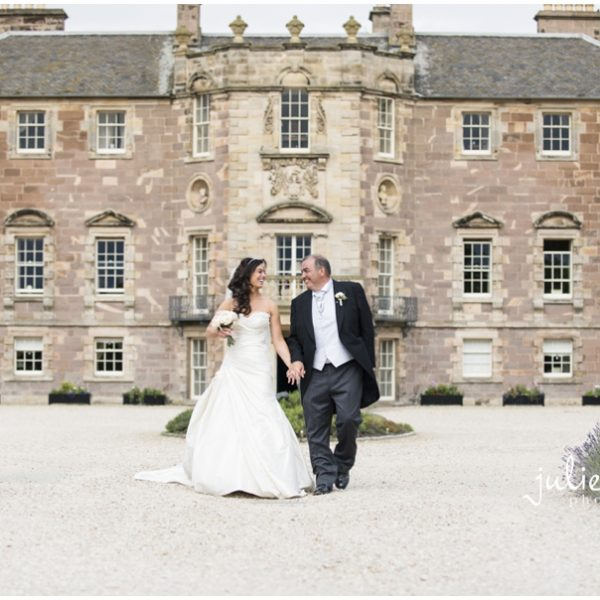 Archerfield House Summer Wedding - Michelle & Rob