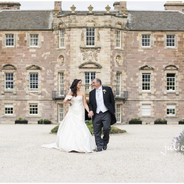 Archerfield House Summer Wedding - Michelle & Rob