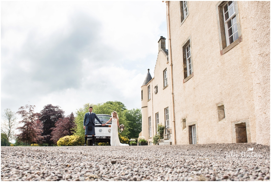Myres Castle Wedding