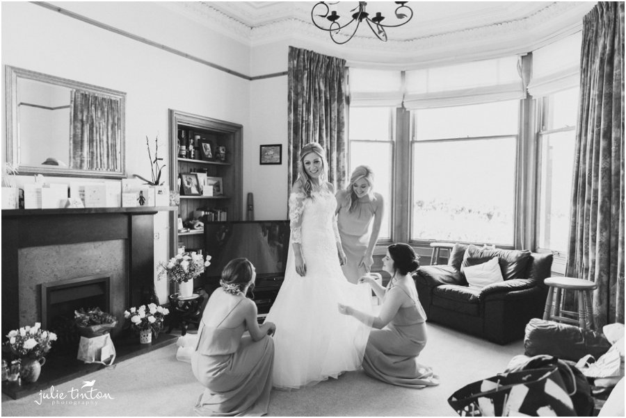 Edinburgh Wedding Bridal Prep