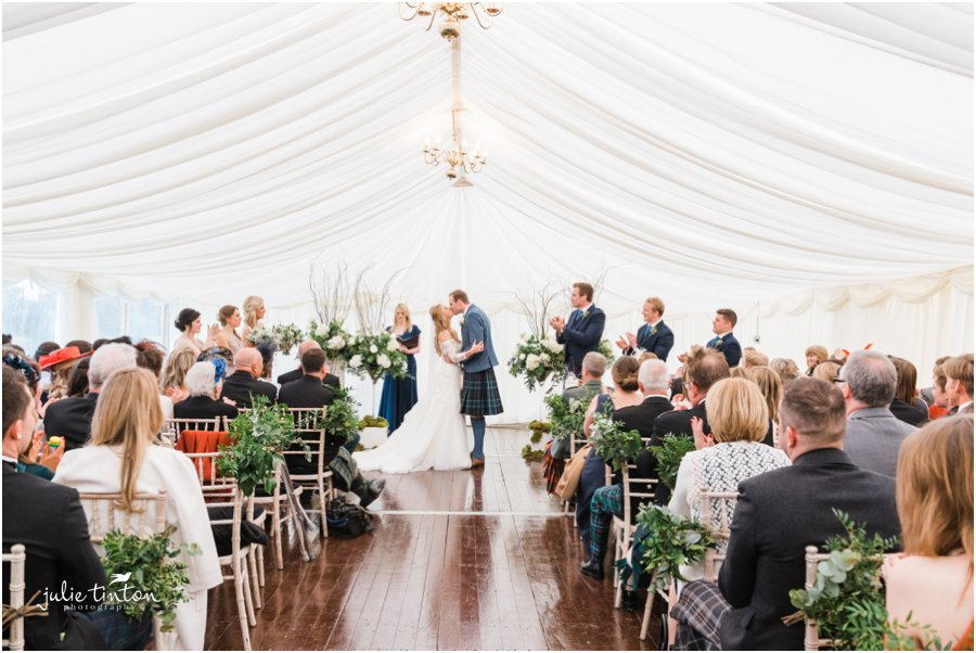Prestonfield House Wedding Ceremony