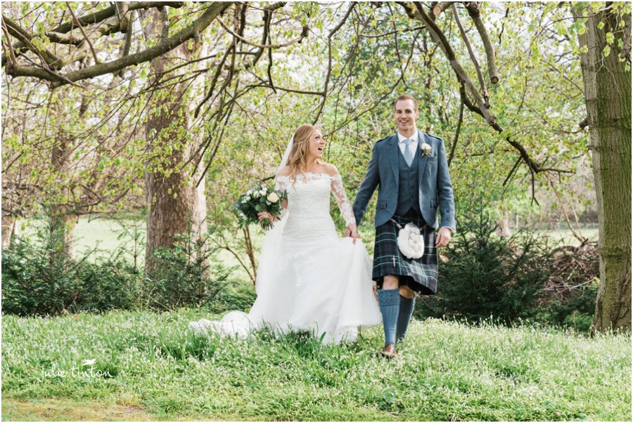 Creative Prestonfield House Wedding Photography