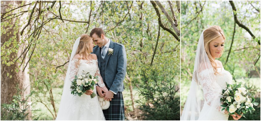 Prestonfield House Wedding, bride