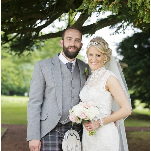 Prestonfield House Wedding Edinburgh - Emma & Phil