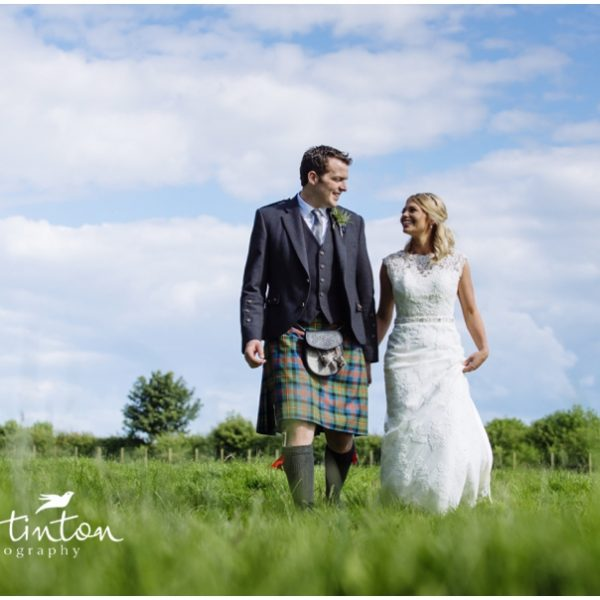 Rachel & Adam - Borders Farm Wedding