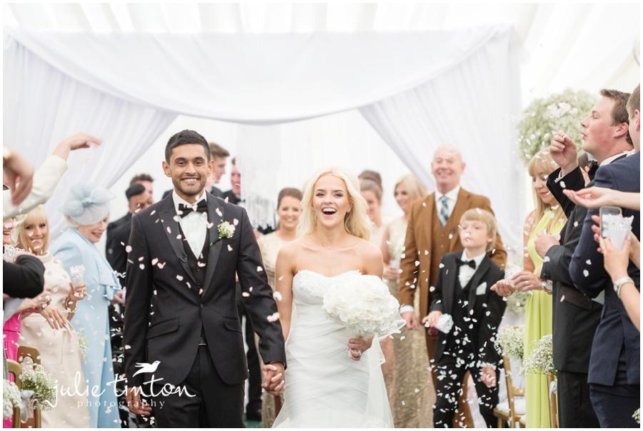 Harburn House Wedding Confetti