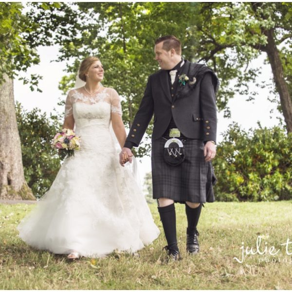 Stirling University Wedding - Jennifer & Scott