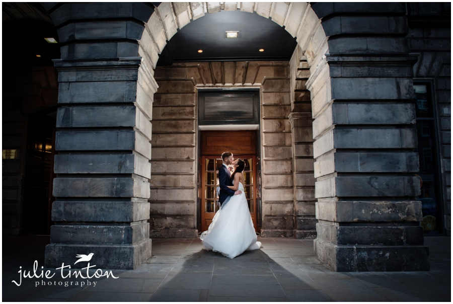 Assembly Rooms Wedding Edinburgh
